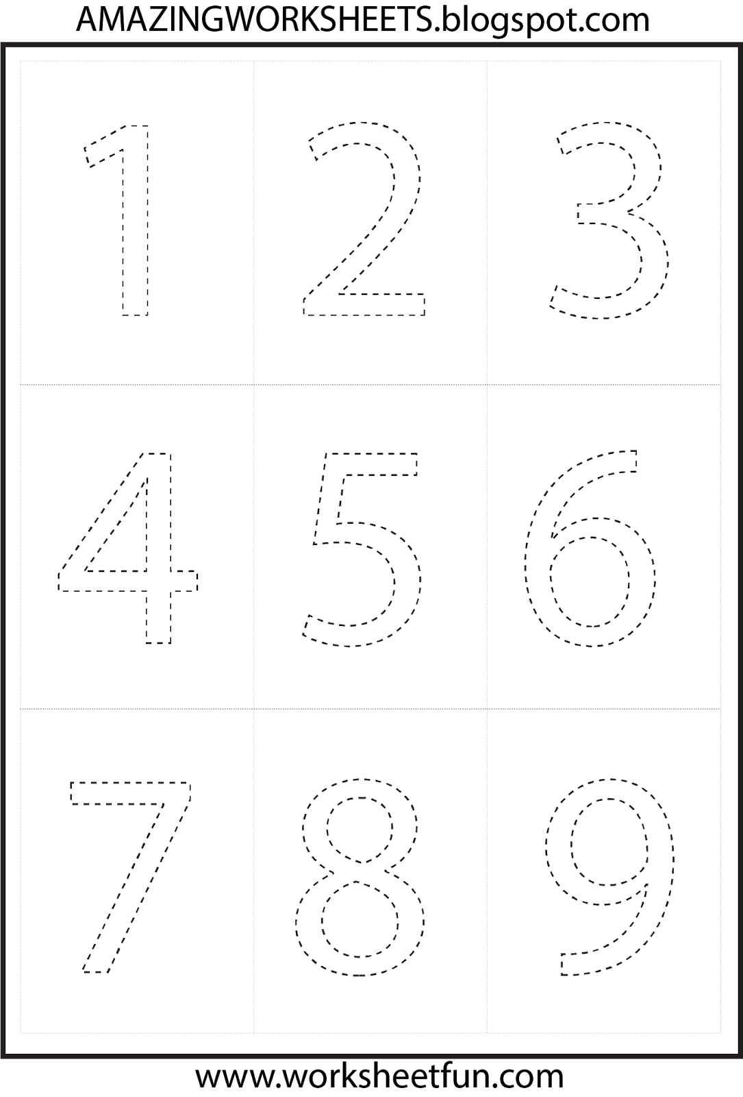 Workbooks trace numbers worksheets : Pretty Tracing Numbers Printable Educational Worksheets For ...
